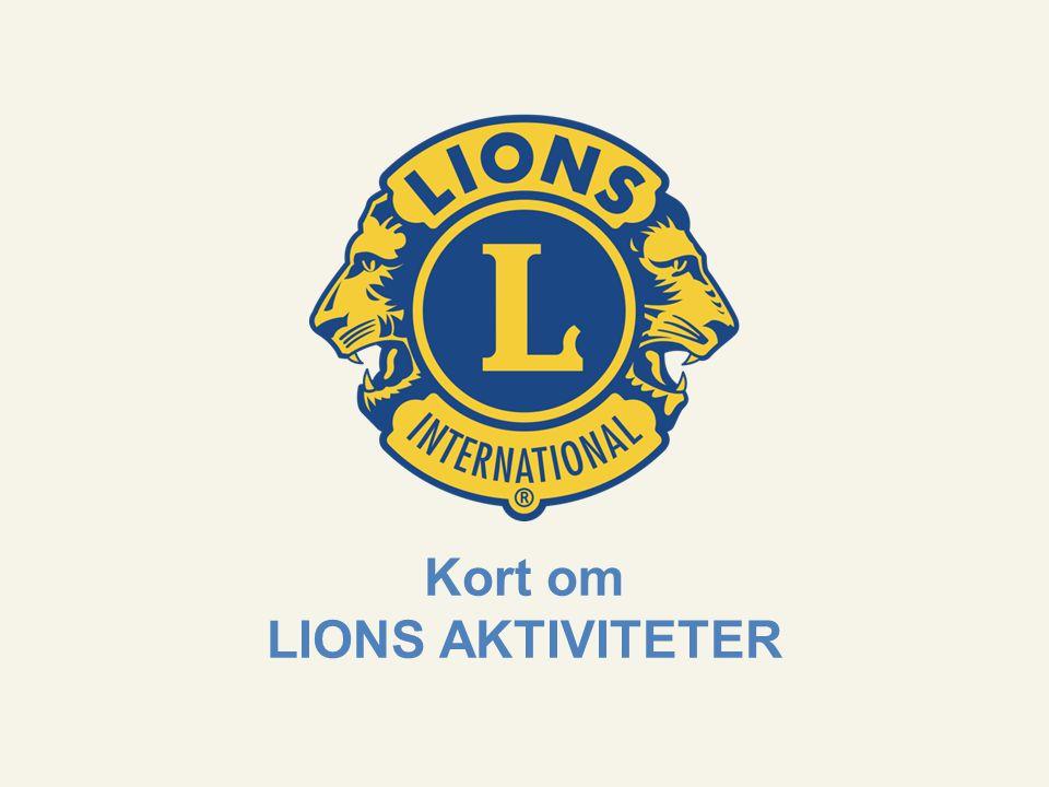 Til tjeneste Lions Norge – Organisasjon 11.11.2012 www.lions.no Prinsipp for alle våre aktiviteter Vi gir 100 prosent til aktivitet Når vi samler inn penger til humanitære formål har vi et ufravikelig prinsipp; alle de innsamlede midlene skal gå uavkortet å hjelpe andre.