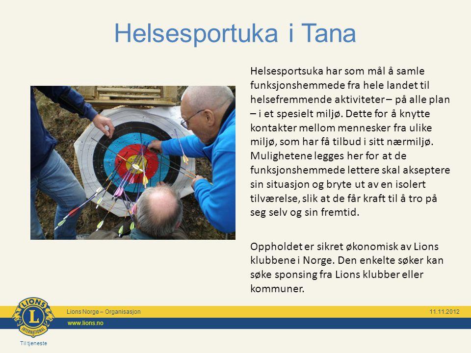 Til tjeneste Lions Norge – Organisasjon 11.11.2012 www.lions.no Lions Førerhundskole Lions Førerhundskole og mobilitetssenter i Oslo, i et rolig og hyggelig strøk med lett adkomst til bytrafikk.