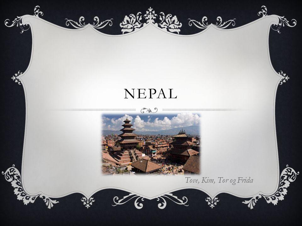NEPAL Tove, Kim, Tor og Frida