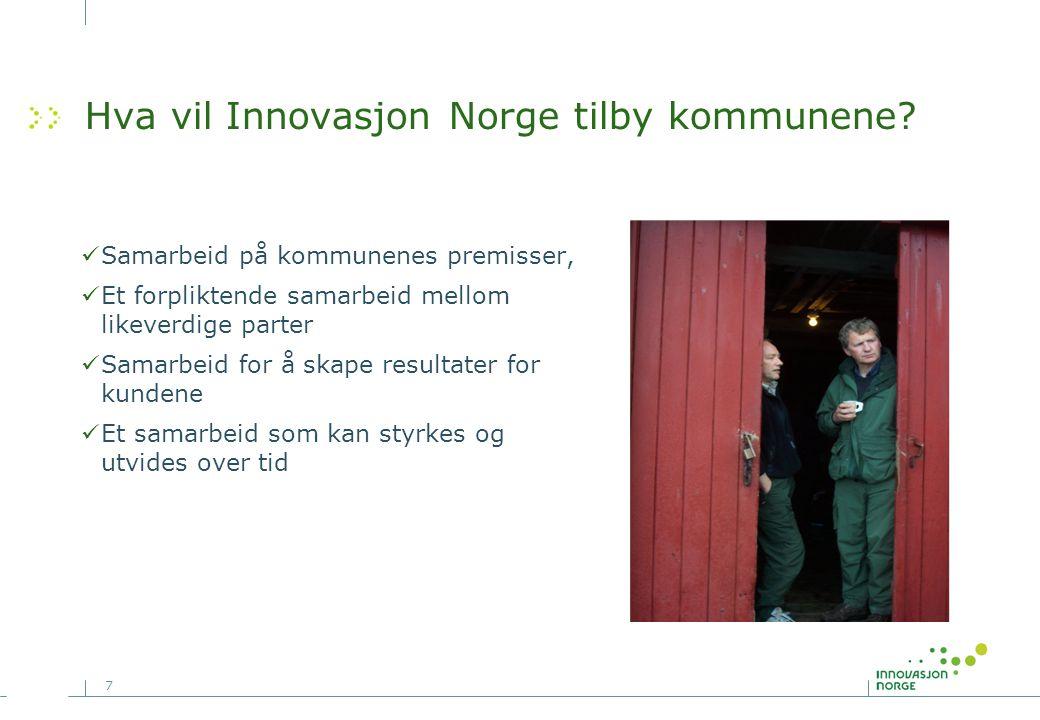 7 Hva vil Innovasjon Norge tilby kommunene.
