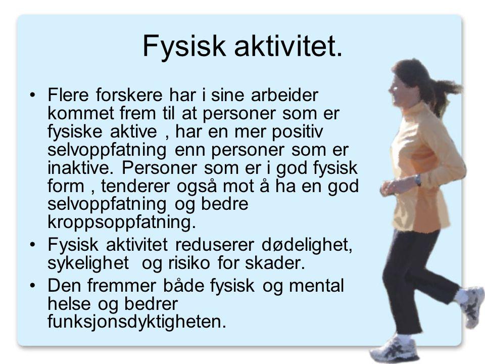 Delkonklusion (Håndbog i fysisk aktivitet-sunnhetsstyrelsen) •Relativt mange danskere er så fysisk inaktive at det har en markant negativ indflydelse på deres sundhed