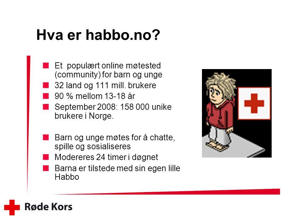 Hva er habbo.no.Et populært online møtested (community) for barn og unge 32 land og 111 mill.