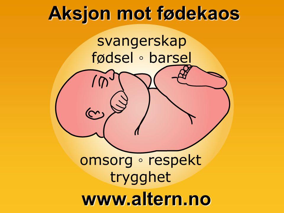 Aksjon mot fødekaos www.altern.no