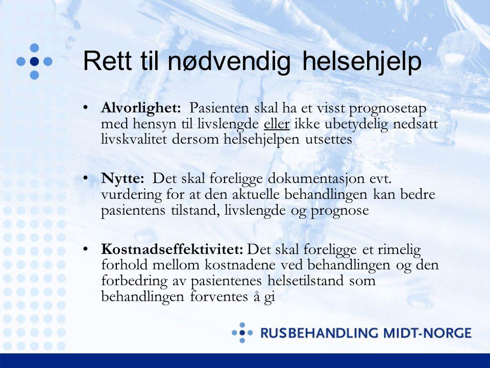 Alvorlighetsgrad LAV HØY LAVHØY Kommunale tiltak Primærprevensjon Kommunale tiltak Rettighetspas.