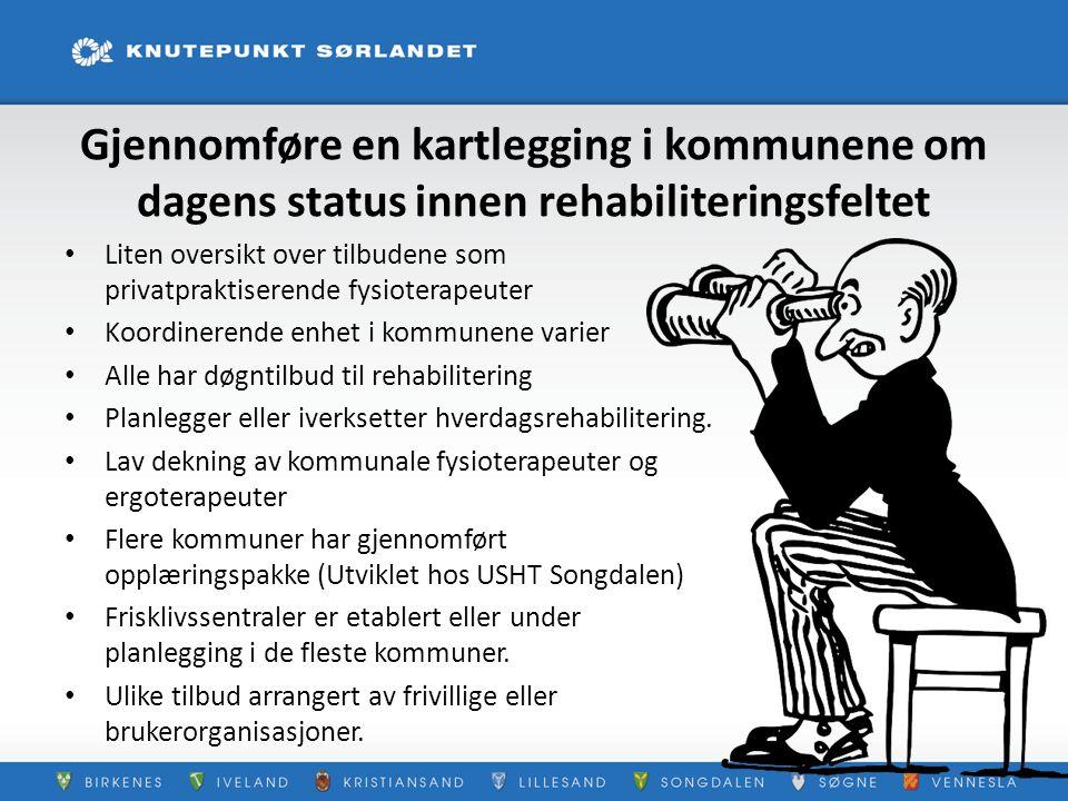 Hverdagsrehabilitering •Iverksatt i Danmark og Sverige med gode resultater.