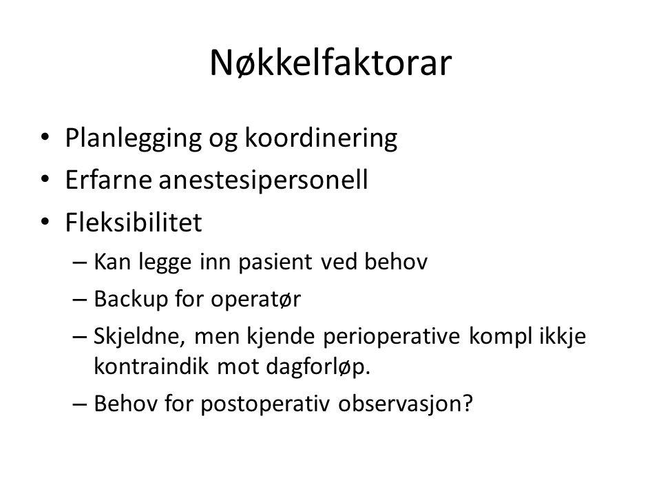 ØNH Pasientforløp, DK KriterierPreopAnestesiOppfølgUtstyr SkopierDENDE/ Tumor colli-drenPolN/LPol.