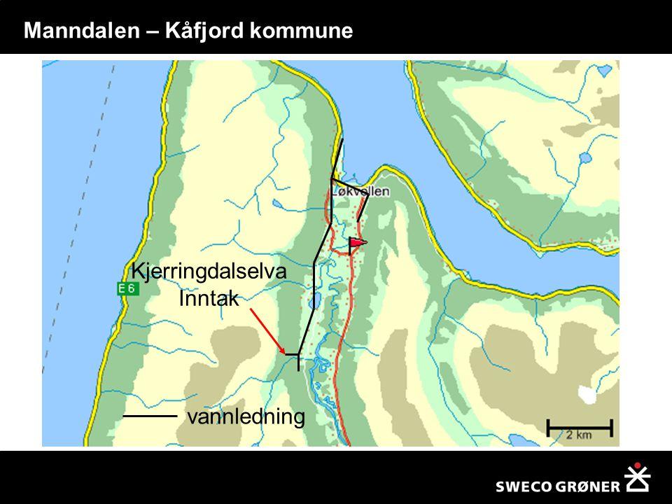 Kjerringdalselva Inntak vannledning