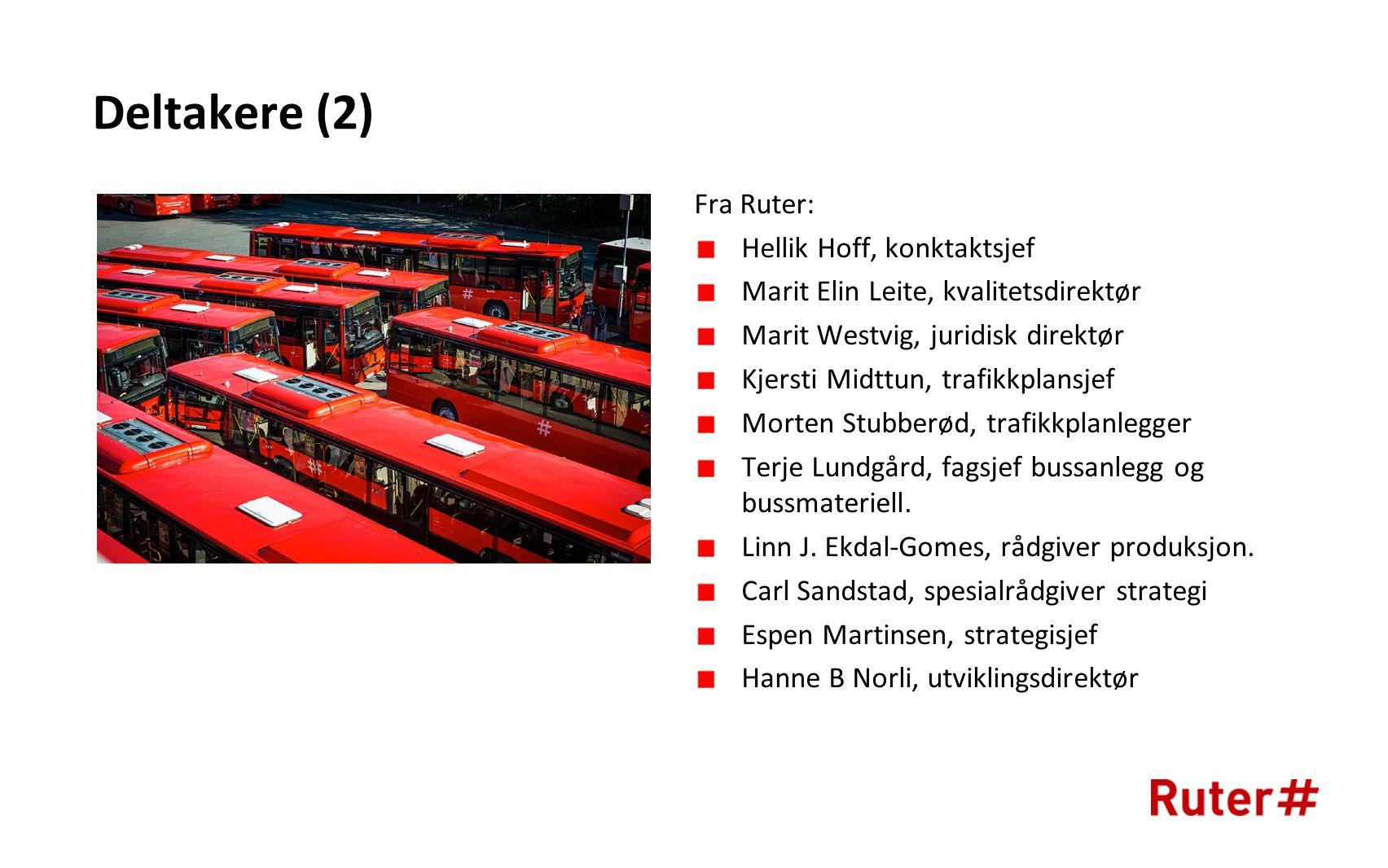 Behov for opparbeiding av ny kapasitet: -Bærum øst -Groruddalen -Lørenskog -Gjerdrum -Jessheim -Sørumsand Ønsket bussanleggsstruktur 2030
