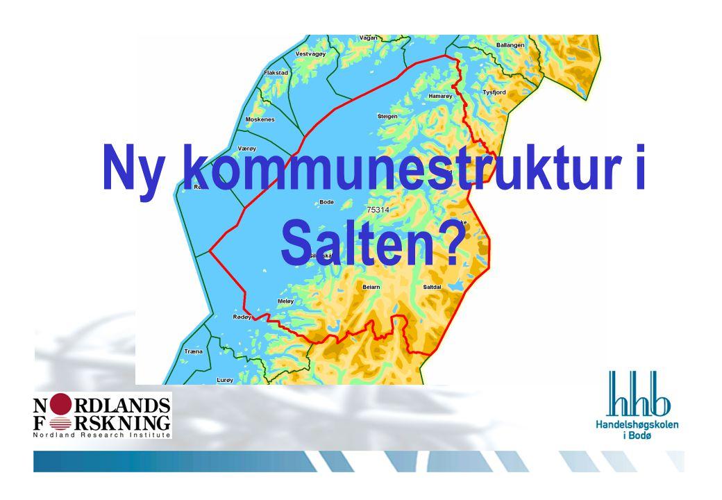 Ny kommunestruktur i Salten