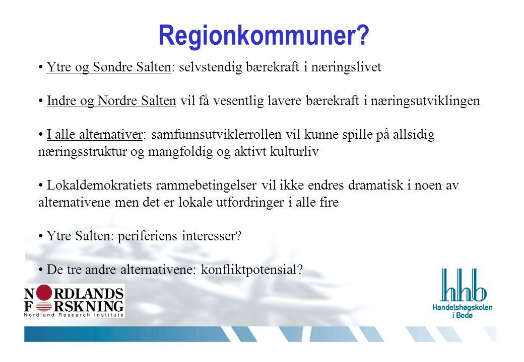 Regionkommuner.