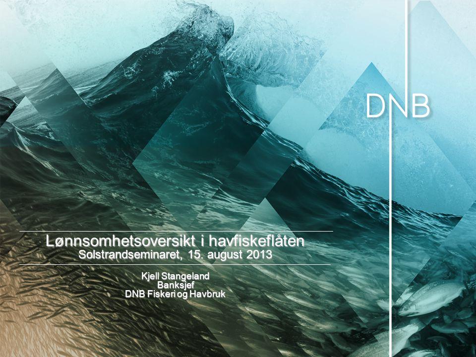 DNB – en solid bank i en sterk økonomi  Solid fundament og sterk markedsposisjon  Moodys A1, S& P A+, stabil forventning  Størst i Norge og nr.
