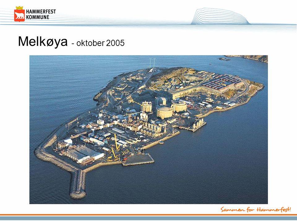 Melkøya - oktober 2005