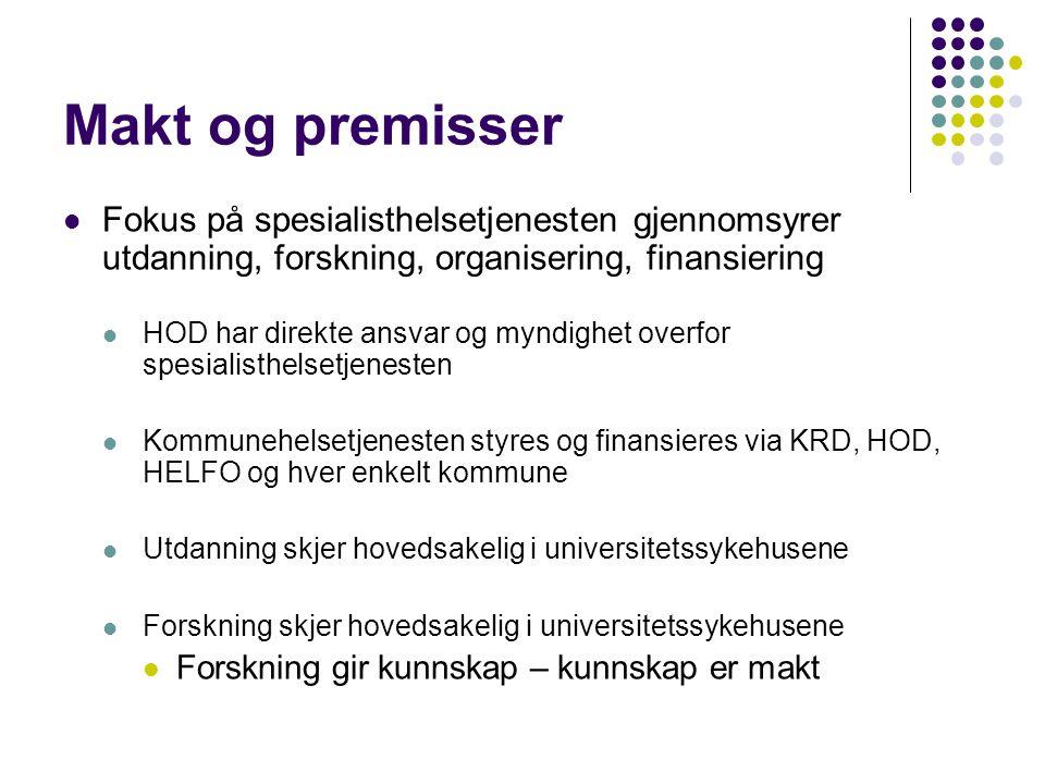 Uten IT – dårlig samhandling  Grunnleggende infrastruktur  Må på plass.