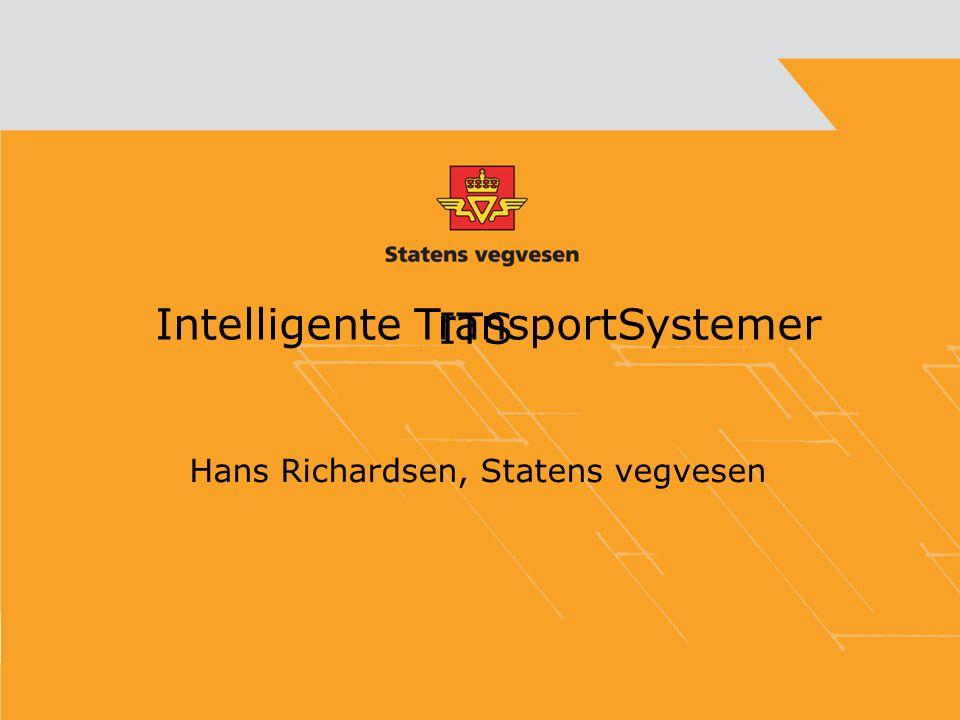 ITS Hans Richardsen, Statens vegvesen Intelligente TransportSystemer