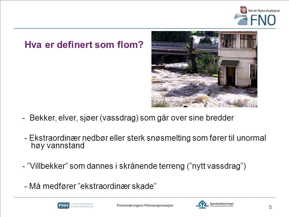 26 Fakta: Tilbakeslag i en rekke boliger etter regn (ca 250).
