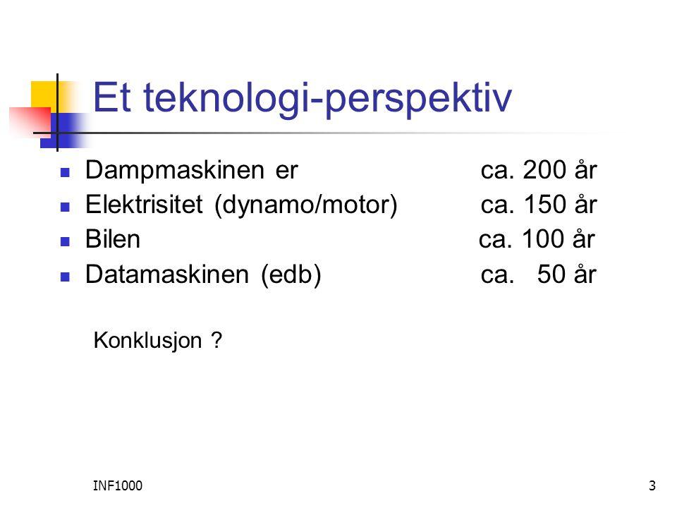 INF100024 Internett  Elektronisk post  E-handel, B2B  ca.