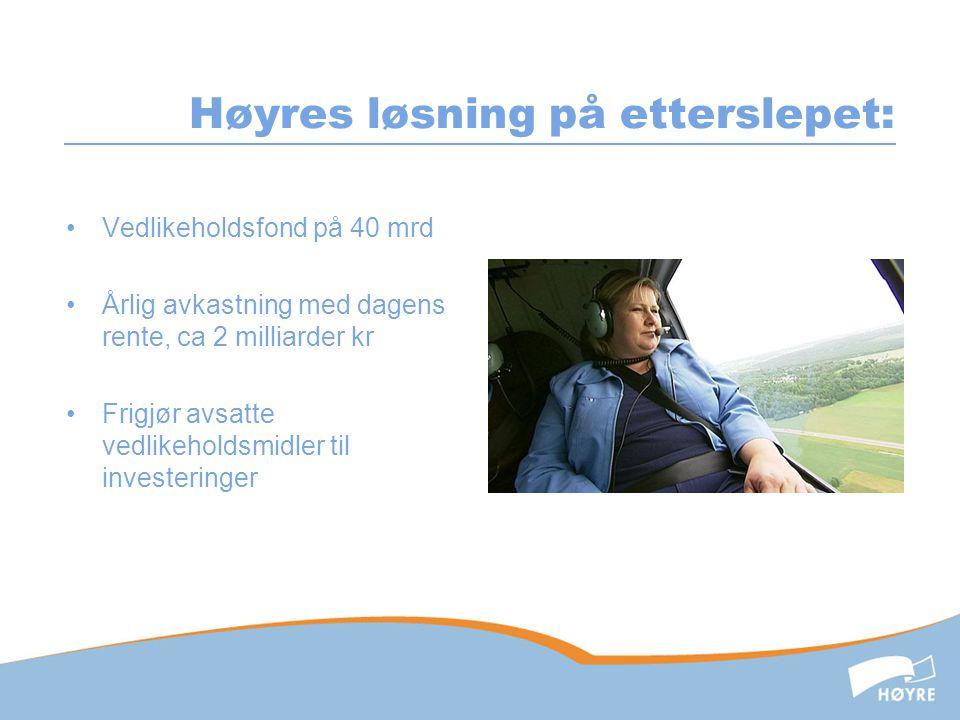 E16- Sandvika-Hønefoss •Trafikken tilsier 4 felts veg til Hønefoss, langt over 10000 biler i døgnet •Vøyen-Bjørum i gang, men mangler vedtak på vegen over (under) Sollihøgda, videre til Hønefoss.