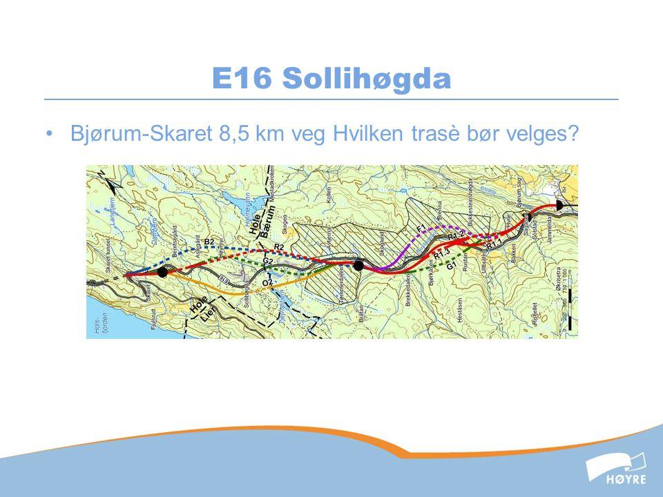 Smal 4-felts vei – trafikksikkerhet og fremkommelighet!