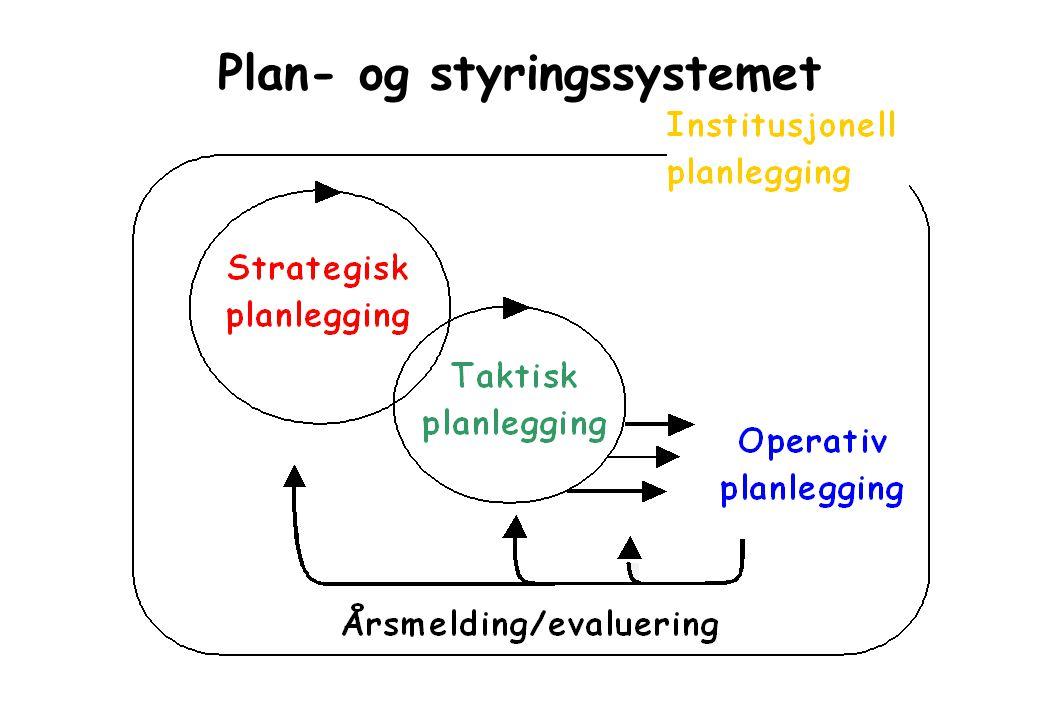 Plan- og styringssystemet