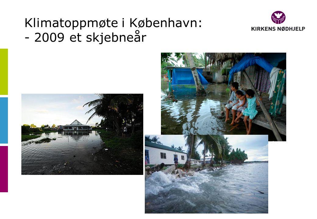 Klimatoppmøte i København: - 2009 et skjebneår