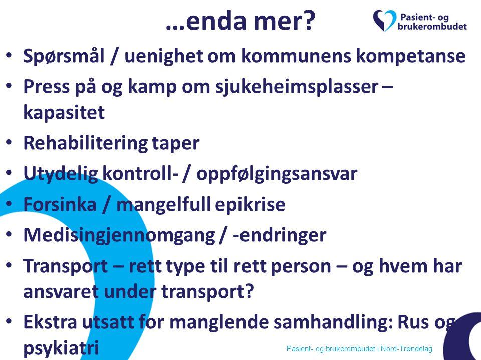 Pasient- og brukerombudet i Nord-Trøndelag …enda mer.