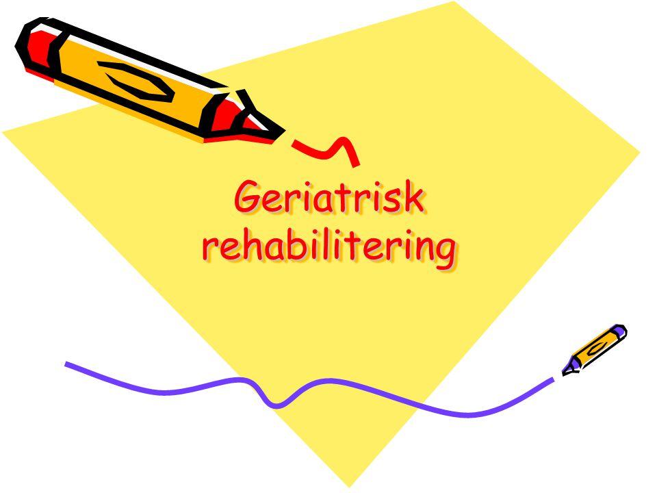 Terapeutisk intervensjon •Utstyr, lokaliteter, kompetanse og personell til å kunne gi tilstrekkelig •treningsintensitet.