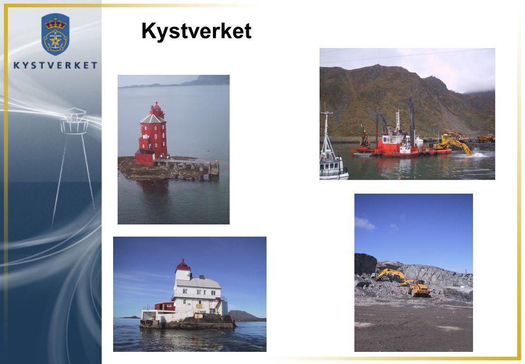 Hvilke ressurser har Kystverket •Beredskapspersonell i Horten, Bergen og Tromsø (32) •15 depoter med oljevernutstyr og 10-manns depotstyrke samt 9 mellomdepot •4 oljevernfartøy (som Kystverket også driftet tidligere) •Tilgang til 8 (nå 9) Kystvaktfartøy med oljevernutstyr •Et spesialutrustet overvåkingsfly •Omfattende avtaleverk om ressurs- og fagbistand, inkl.