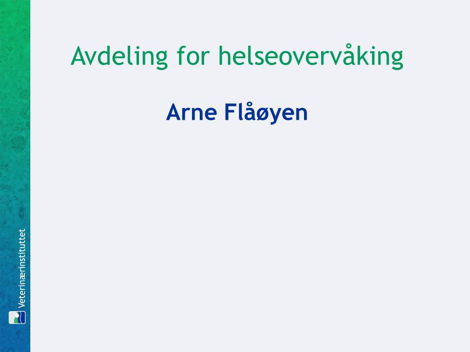 Avdeling for helseovervåking Arne Flåøyen