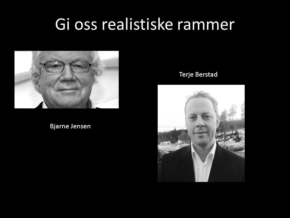 Bjarne Jensen Terje Berstad