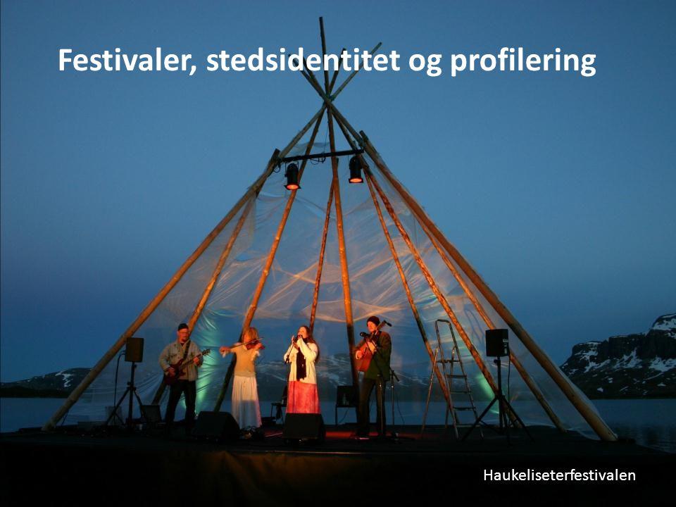 Festivaler, stedsidentitet og profilering Haukeliseterfestivalen