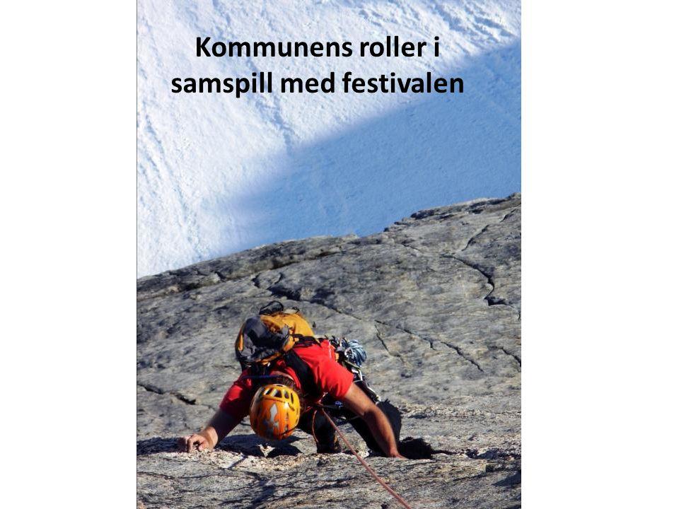Kommunens roller i samspill med festivalen