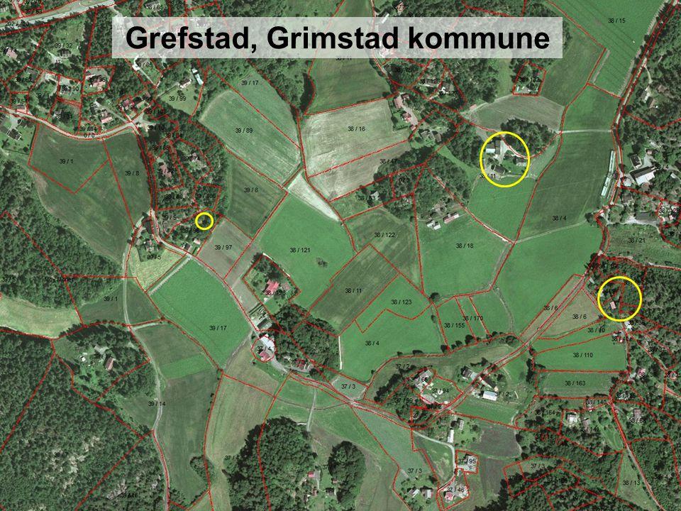 Grefstad, Grimstad kommune