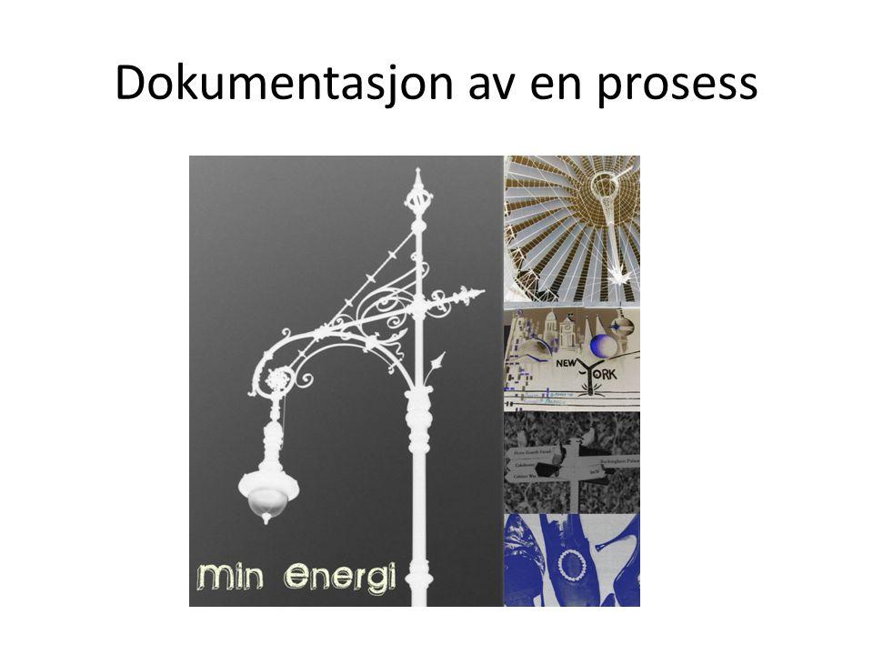 Dokumentasjon av en prosess