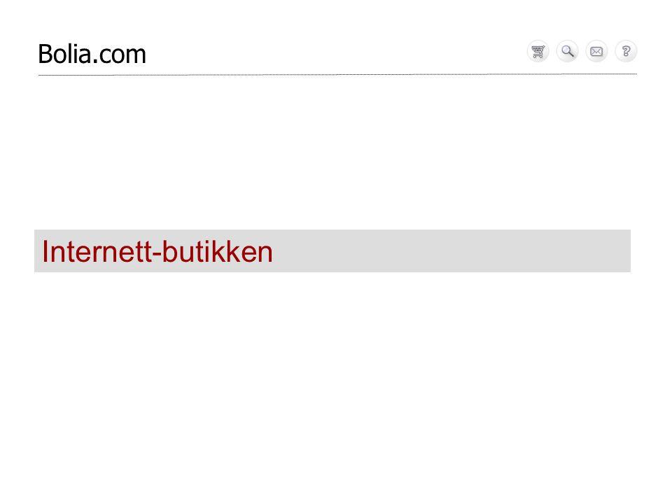 Bolia.com Internett-butikken