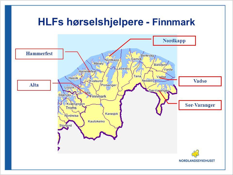 HLFs hørselshjelpere - Finnmark Sør-Varanger Hammerfest Vadsø Nordkapp Alta