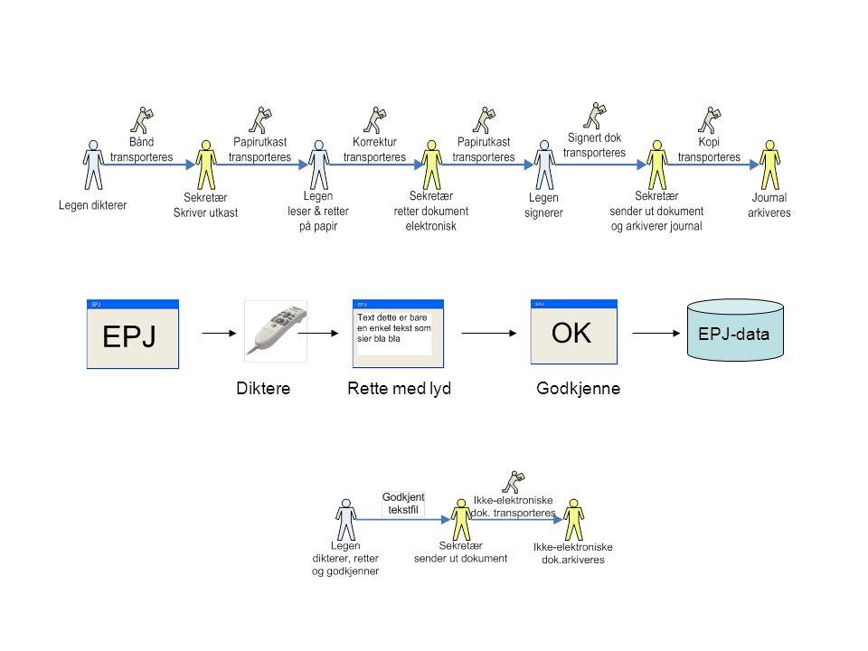EPJ-data DiktereRette med lydGodkjenne