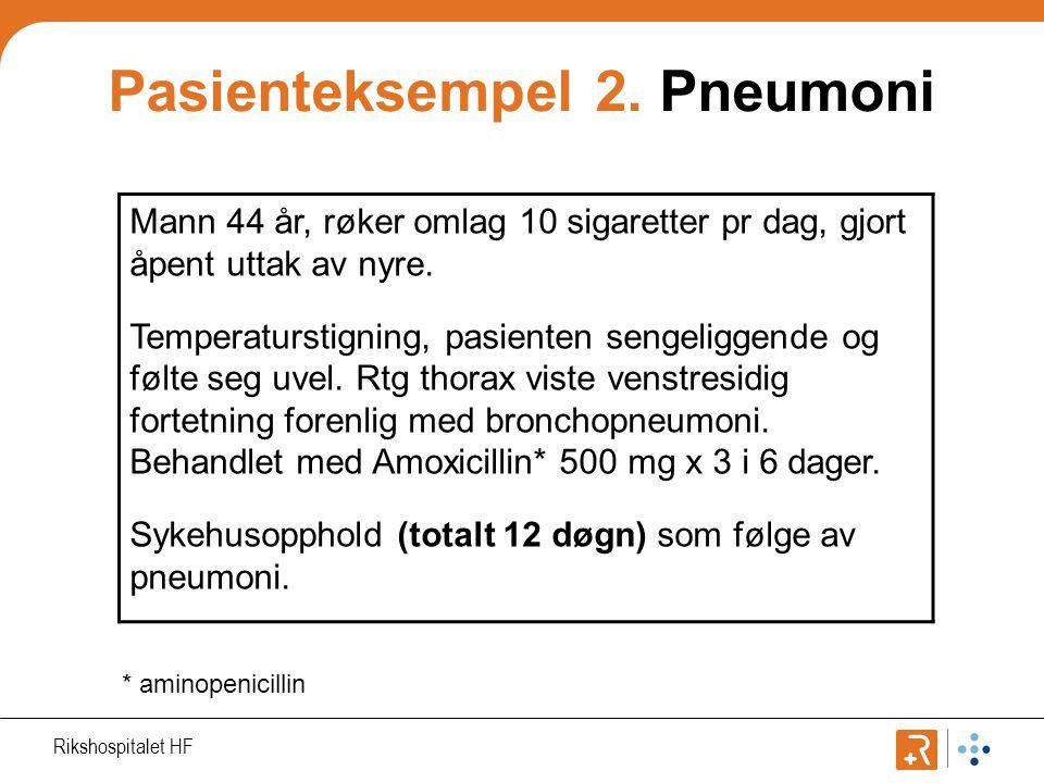 Pasienteksempel 2.