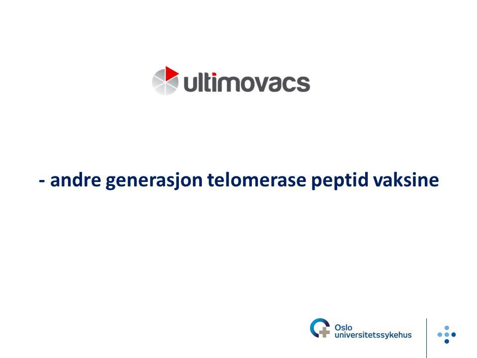Else Marit I Suso - andre generasjon telomerase peptid vaksine