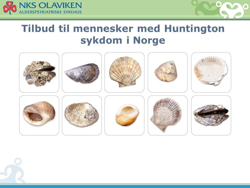 Tilbud til mennesker med Huntington sykdom i Norge