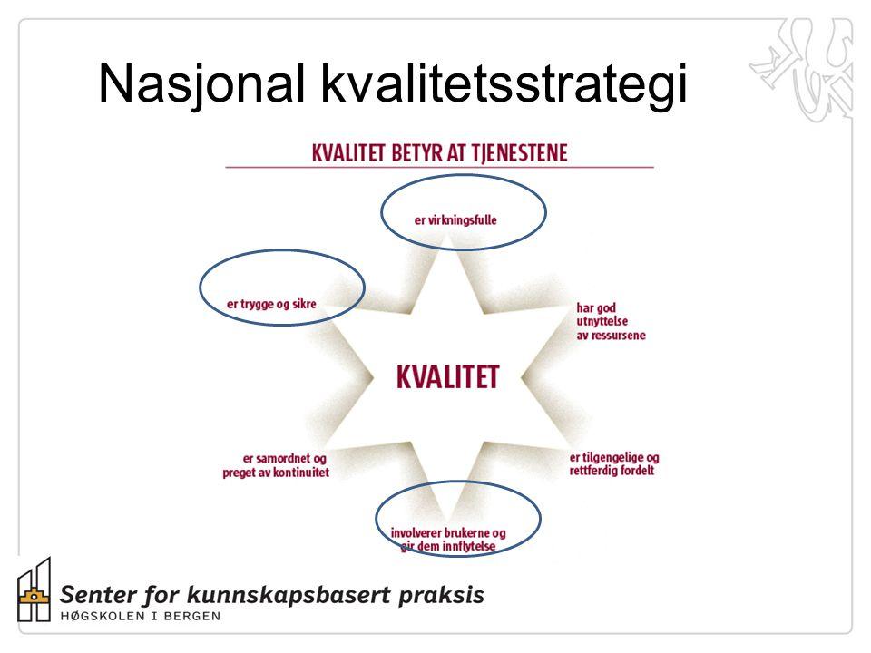 Nasjonal kvalitetsstrategi