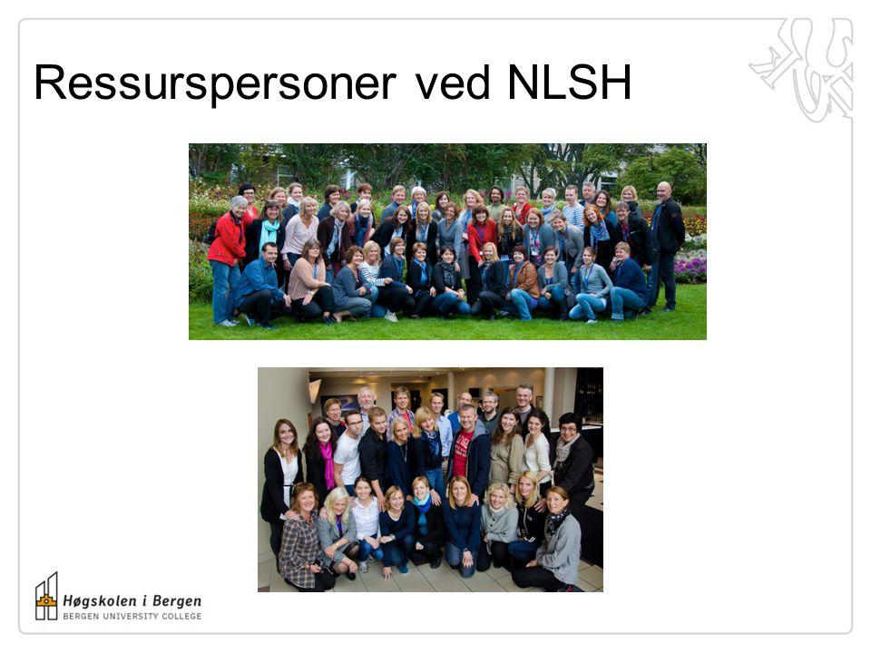 Ressurspersoner ved NLSH