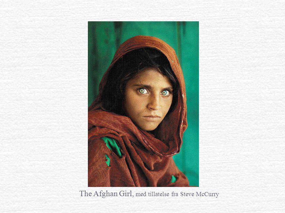 The Afghan Girl, med tillatelse fra Steve McCurry