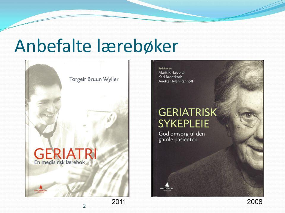 Anbefalte lærebøker 2 20112008