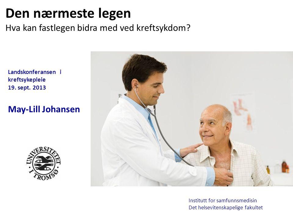 Landskonferansen i kreftsykepleie 19.sept.