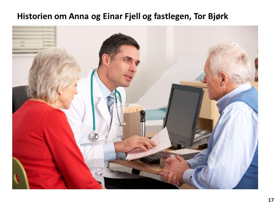 17 Historien om Anna og Einar Fjell og fastlegen, Tor Bjørk