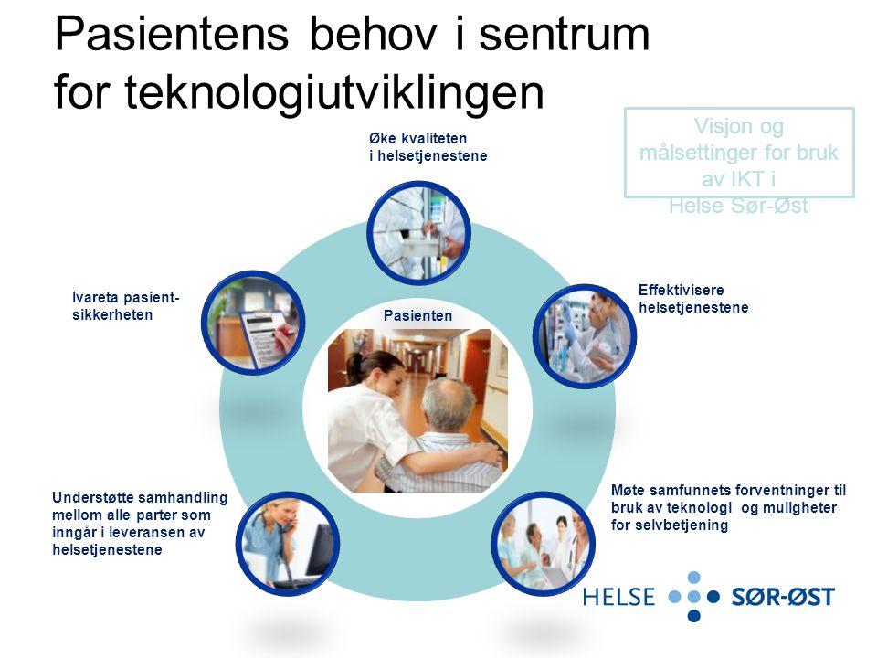 Teknologi som driver i utviklingen av helsetjenesten •Medisinske teknologi vært den aller viktigste driveren for etterspørselen etter helsetjenester de siste ti-årene.