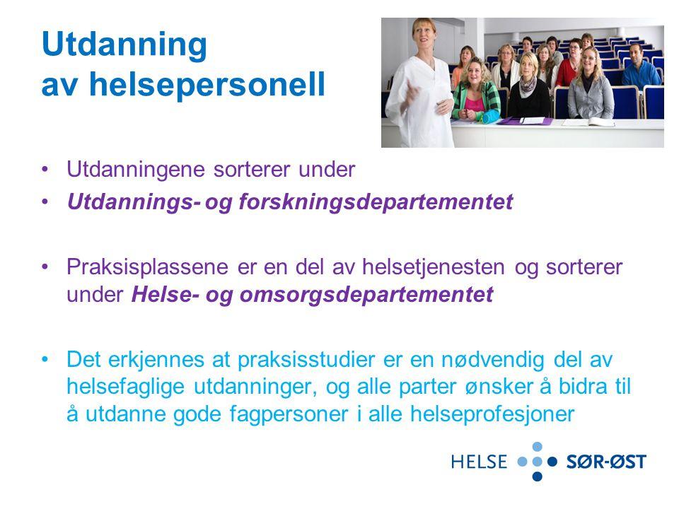 Samarbeidsorganer 1.Samarbeidsorganet for helseforetak og høgskoler/Universitetet i Agder i helseregion sør-øst (jf.