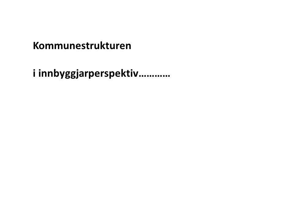 *Utvalgsundersøkelse 2008/9 ( Den krevende borger , NFR)