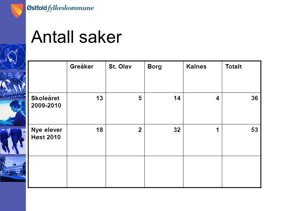 Antall saker GreåkerSt.