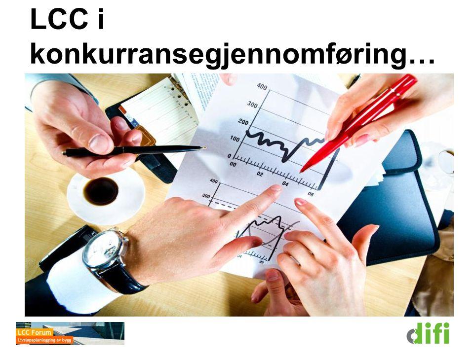 LCC i konkurransegjennomføring…